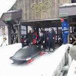 12月23日 : 全日本選手権1本目滑走直前