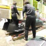 全日本選手権終了後の格納庫