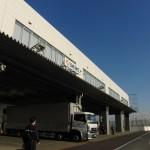 TIACT内の日本通運の倉庫