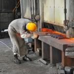 アクスルシャフト鍛造工程