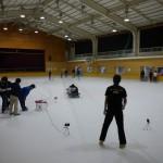 神奈川スケートリンクでテスト