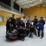 神奈川スケートリンクでの氷上テスト